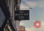 Image of World's End cafe London England United Kingdom, 1970, second 55 stock footage video 65675043077