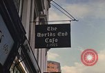 Image of World's End cafe London England United Kingdom, 1970, second 56 stock footage video 65675043077