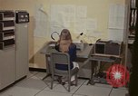 Image of Woman operates computer controls New Mexico United States USA, 1975, second 24 stock footage video 65675043085