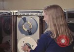 Image of Woman operates computer controls New Mexico United States USA, 1975, second 36 stock footage video 65675043085