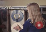 Image of Woman operates computer controls New Mexico United States USA, 1975, second 37 stock footage video 65675043085