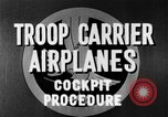 Image of Troops Carrier Airplanes United States USA, 1944, second 34 stock footage video 65675043119
