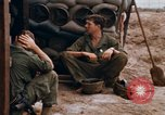 Image of 1st Air Cavalry Division South Vietnam Camp Evans, 1968, second 40 stock footage video 65675043123