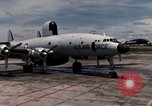 Image of EC-121 Aircraft Thailand Ubon Air Base, 1967, second 13 stock footage video 65675043148