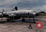 Image of EC-121 Aircraft Thailand Ubon Air Base, 1967, second 17 stock footage video 65675043148