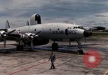 Image of EC-121 Aircraft Thailand Ubon Air Base, 1967, second 19 stock footage video 65675043148