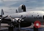 Image of EC-121 Aircraft Thailand Ubon Air Base, 1967, second 33 stock footage video 65675043148