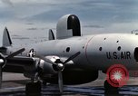 Image of EC-121 Aircraft Thailand Ubon Air Base, 1967, second 36 stock footage video 65675043148