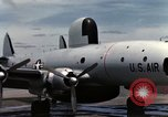 Image of EC-121 Aircraft Thailand Ubon Air Base, 1967, second 37 stock footage video 65675043148