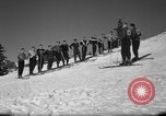 Image of Students receive instruction at U.S. Ski Patrol School Berchtesgaden Germany, 1957, second 13 stock footage video 65675043162