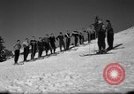 Image of Students receive instruction at U.S. Ski Patrol School Berchtesgaden Germany, 1957, second 20 stock footage video 65675043162