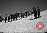 Image of Students receive instruction at U.S. Ski Patrol School Berchtesgaden Germany, 1957, second 23 stock footage video 65675043162