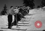 Image of Students receive instruction at U.S. Ski Patrol School Berchtesgaden Germany, 1957, second 32 stock footage video 65675043162