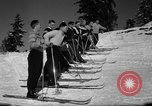 Image of Students receive instruction at U.S. Ski Patrol School Berchtesgaden Germany, 1957, second 33 stock footage video 65675043162