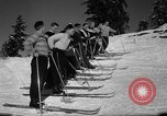Image of Students receive instruction at U.S. Ski Patrol School Berchtesgaden Germany, 1957, second 34 stock footage video 65675043162
