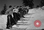 Image of Students receive instruction at U.S. Ski Patrol School Berchtesgaden Germany, 1957, second 35 stock footage video 65675043162