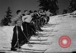 Image of Students receive instruction at U.S. Ski Patrol School Berchtesgaden Germany, 1957, second 36 stock footage video 65675043162