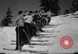 Image of Students receive instruction at U.S. Ski Patrol School Berchtesgaden Germany, 1957, second 37 stock footage video 65675043162
