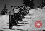Image of Students receive instruction at U.S. Ski Patrol School Berchtesgaden Germany, 1957, second 40 stock footage video 65675043162