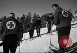 Image of Students receive instruction at U.S. Ski Patrol School Berchtesgaden Germany, 1957, second 44 stock footage video 65675043162