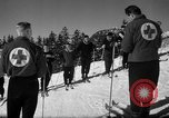 Image of Students receive instruction at U.S. Ski Patrol School Berchtesgaden Germany, 1957, second 46 stock footage video 65675043162
