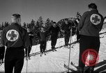 Image of Students receive instruction at U.S. Ski Patrol School Berchtesgaden Germany, 1957, second 49 stock footage video 65675043162