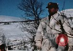 "Image of Italian Alpini during NATO ""Arctic Express"" exercise Norway, 1970, second 48 stock footage video 65675043180"