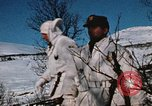 "Image of Italian Alpini during NATO ""Arctic Express"" exercise Norway, 1970, second 49 stock footage video 65675043180"