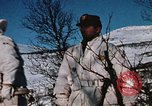 "Image of Italian Alpini during NATO ""Arctic Express"" exercise Norway, 1970, second 50 stock footage video 65675043180"