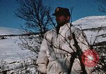 "Image of Italian Alpini during NATO ""Arctic Express"" exercise Norway, 1970, second 51 stock footage video 65675043180"