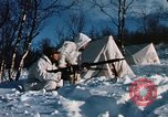 "Image of Italian Alpini during NATO ""Arctic Express"" exercise Norway, 1970, second 52 stock footage video 65675043180"
