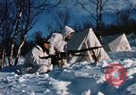 "Image of Italian Alpini during NATO ""Arctic Express"" exercise Norway, 1970, second 53 stock footage video 65675043180"
