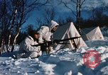 "Image of Italian Alpini during NATO ""Arctic Express"" exercise Norway, 1970, second 54 stock footage video 65675043180"