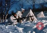 "Image of Italian Alpini during NATO ""Arctic Express"" exercise Norway, 1970, second 55 stock footage video 65675043180"