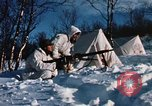 "Image of Italian Alpini during NATO ""Arctic Express"" exercise Norway, 1970, second 56 stock footage video 65675043180"