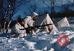 "Image of Italian Alpini during NATO ""Arctic Express"" exercise Norway, 1970, second 57 stock footage video 65675043180"