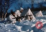 "Image of Italian Alpini during NATO ""Arctic Express"" exercise Norway, 1970, second 58 stock footage video 65675043180"