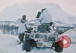 """Image of Italian soldiers in NATO exercise """"Arctic Express"""" Norway, 1970, second 14 stock footage video 65675043182"""