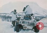 """Image of Italian soldiers in NATO exercise """"Arctic Express"""" Norway, 1970, second 15 stock footage video 65675043182"""