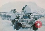 """Image of Italian soldiers in NATO exercise """"Arctic Express"""" Norway, 1970, second 16 stock footage video 65675043182"""