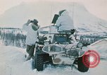 """Image of Italian soldiers in NATO exercise """"Arctic Express"""" Norway, 1970, second 18 stock footage video 65675043182"""