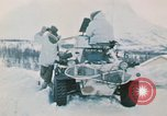 """Image of Italian soldiers in NATO exercise """"Arctic Express"""" Norway, 1970, second 19 stock footage video 65675043182"""