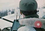 """Image of Italian soldiers in NATO exercise """"Arctic Express"""" Norway, 1970, second 20 stock footage video 65675043182"""