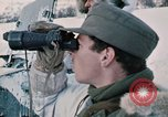 """Image of Italian soldiers in NATO exercise """"Arctic Express"""" Norway, 1970, second 25 stock footage video 65675043182"""