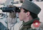 """Image of Italian soldiers in NATO exercise """"Arctic Express"""" Norway, 1970, second 26 stock footage video 65675043182"""