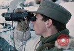 """Image of Italian soldiers in NATO exercise """"Arctic Express"""" Norway, 1970, second 28 stock footage video 65675043182"""