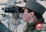 """Image of Italian soldiers in NATO exercise """"Arctic Express"""" Norway, 1970, second 29 stock footage video 65675043182"""