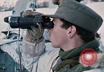 """Image of Italian soldiers in NATO exercise """"Arctic Express"""" Norway, 1970, second 30 stock footage video 65675043182"""