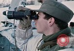 """Image of Italian soldiers in NATO exercise """"Arctic Express"""" Norway, 1970, second 32 stock footage video 65675043182"""