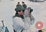 """Image of Italian soldiers in NATO exercise """"Arctic Express"""" Norway, 1970, second 46 stock footage video 65675043182"""